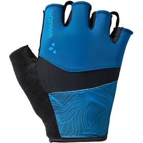 VAUDE Advanced II - Guantes largos Hombre - azul/negro